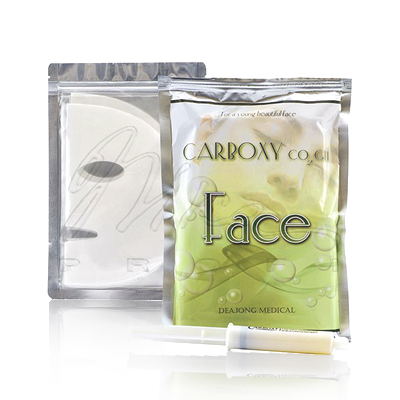 Карбокситерапия, маска для лица и шеи Carboxy CO2 Gel Mask